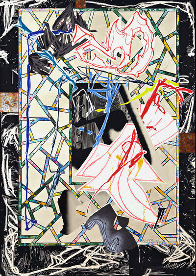 Frank Stella, 'The Counterpane (From The Waves Series)', 1989