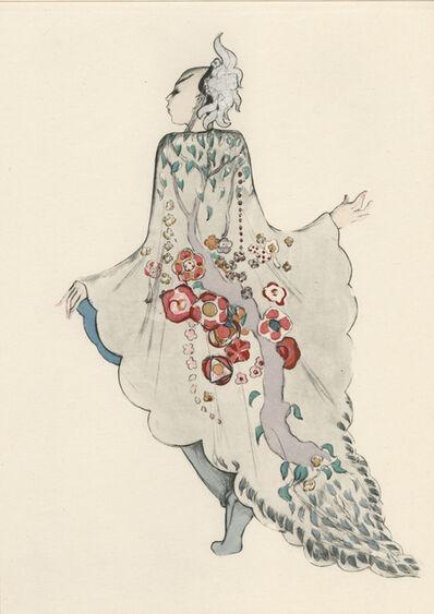 """Walter Schnackenberg, '""""Tschaikiun II"""", Ballet und Pantomime (plate 17)', 1920"""