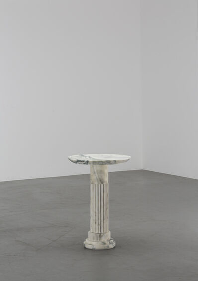 Karl Lagerfeld, 'Untitled VII (Side Table - H63 - Arabescato)', 2018