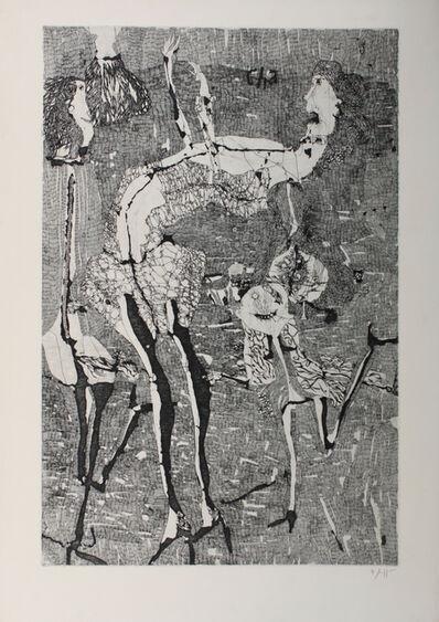 Horst Janssen, 'Cha-Cha-Cha', 1958