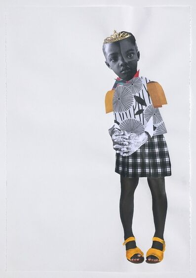 Deborah Roberts, 'Here Before, Here After', 2018