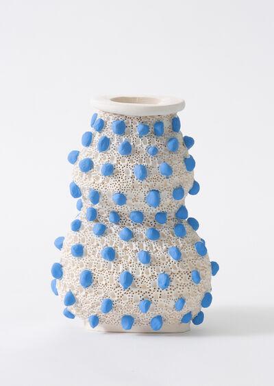 Glenn Barkley, 'blue pox double gourd vase', 2019