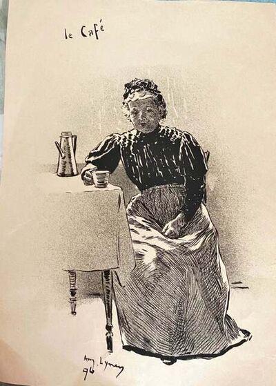 André Lynen, 'Il Café ', 1896