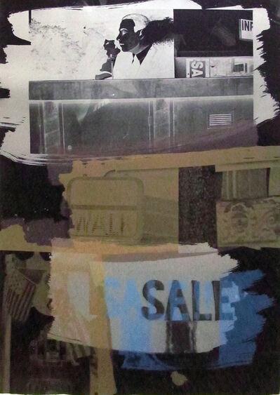 Robert Rauschenberg, 'Fence', 1992