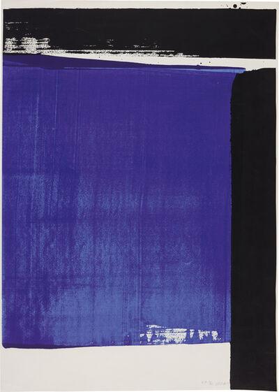 Pierre Soulages, 'Sérigraphie no. 16', 1981