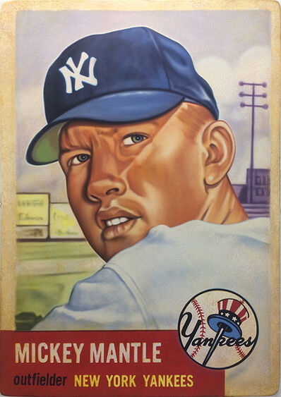 George Mead, '1953 Topps Mickey Mantle ', 2017