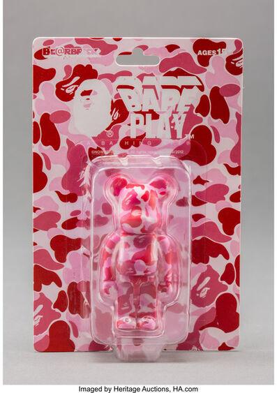 BE@RBRICK X BAPE, 'Camo 100% (Red)', 2012
