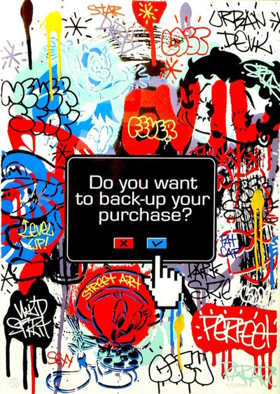 Speedy Graphito, 'Do You Really Want To Backup Your Purchase?', 2012