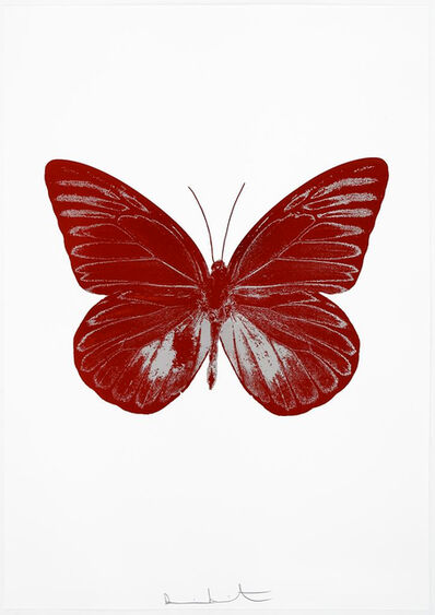 Damien Hirst, 'The Souls I - Chilli Red/Silver Gloss, ', 2010