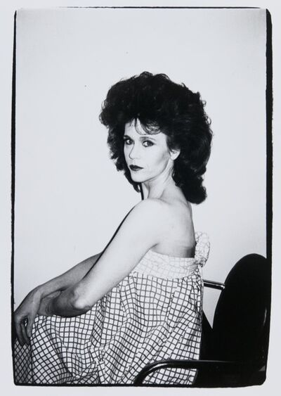 Andy Warhol, 'Andy Warhol, Photograph of Jane Fonda, 1982', 1982