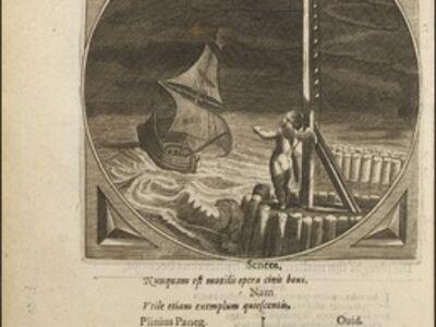Adriaen Pietersz van de Venne, 'LVCEAT LVX VESRTA CORAM HOMINIBVS', 1627