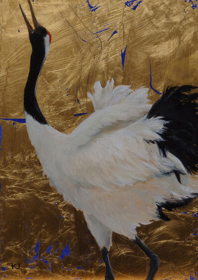 Kay Jackson, 'Red Crowned Crane', 2015