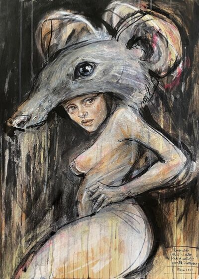 Herakut, 'Hera   Mice and Men', 2021