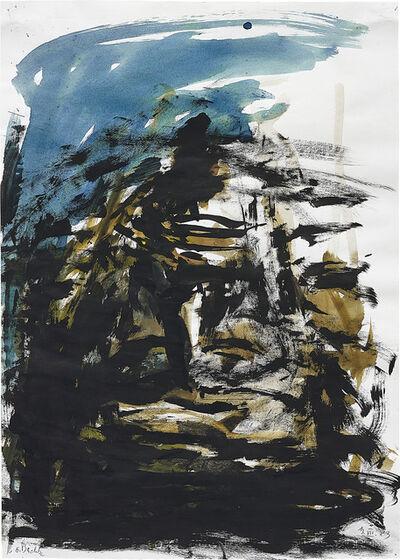 Georg Baselitz, 'Ohne Titel', 13 July 1983