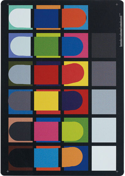 Artie Vierkant, 'Color Rendition Chart Thursday 28 March 2013 2:44PM', 2013