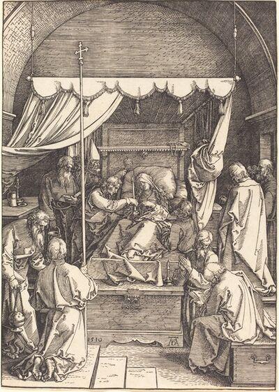 Albrecht Dürer, 'The Death of the Virgin', 1510