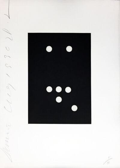 Donald Sultan, 'Domino #18', 1990