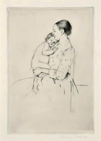 Mary Cassatt, 'Quietude.', ca. 1891