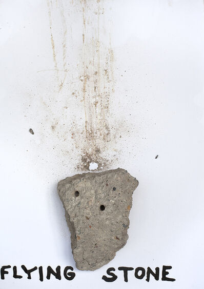 Kristof Kintera, 'Flying stone', 2019