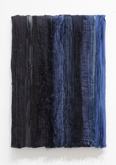 Joël Andrianomearisoa, 'Blue take me to the end of all loves (6)', 2019