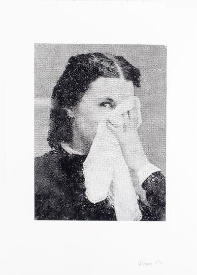 Lotte Reimann, 'No. 133 (lady with handkerchief)', 2016