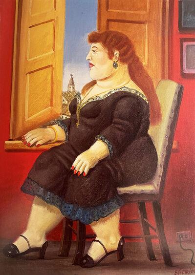 Fernando Botero, 'Donna alla finestra / Woman in Front of a Window', 2000