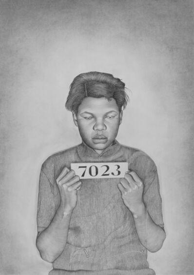 Lava Thomas, 'Mugshot Portraits: Women of the Montgomery Bus Boycott, Addie J. Hamerter', 2018