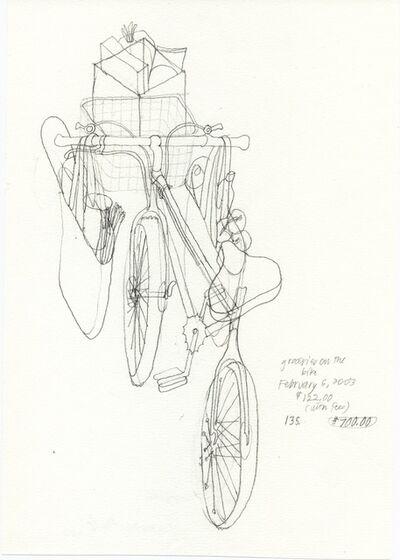 Danica Phelps, 'Groceries on the bike #135', 2003