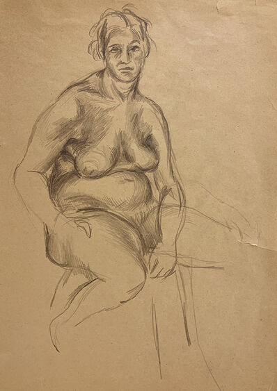 Jared French, 'Untitled (Female Figure)', 1930