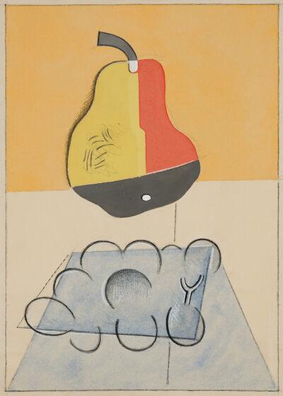 Stuart Davis, 'Untitled (Pear)', ca. 1921