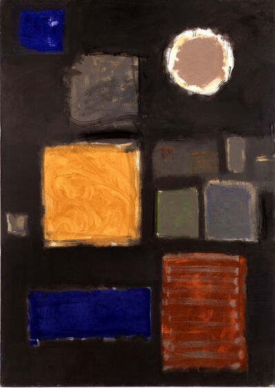 Patrick Heron, 'Big Grey - with Disc : June - September 1959', 1959