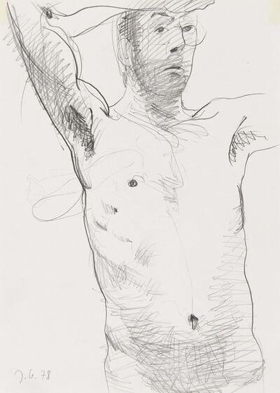 Johannes Grützke, 'Untitled (Self-Portrait)', 1978