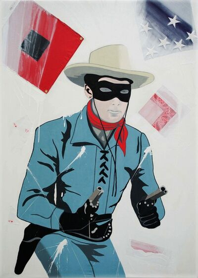 Ronnie Cutrone, 'The Lone Ranger-Riders on the Storm', 2006
