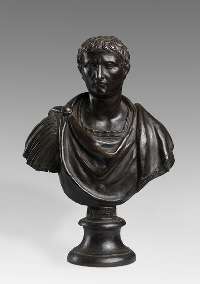 Attributed to Willem van Tetrode, 'Bust of Tiberius', Second Half 16th Century