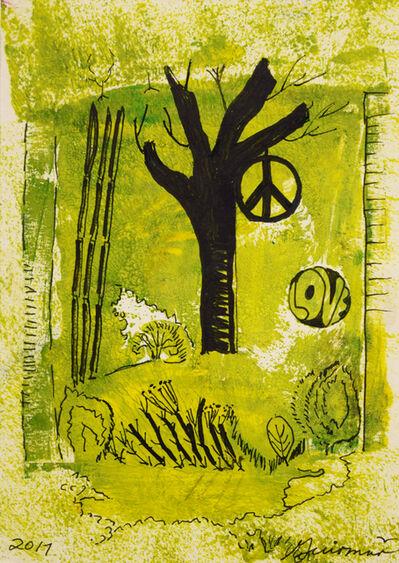 Guiomar Giraldo-Baron, 'Peace & Love', 2017