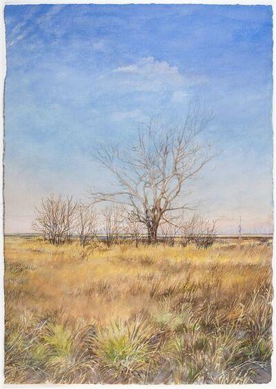 Don Stinson, 'Apache Exit I-15 Island', 2018