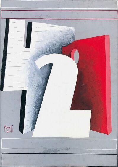 Domenico Belli, 'Bozzetto preliminare per il manifesto seconda Quadriennale romana', 1935