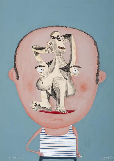 Moisés Yagües, 'Picasso and I', 2021