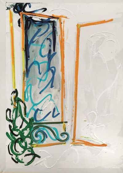 Mario Schifano, 'Window', 1982