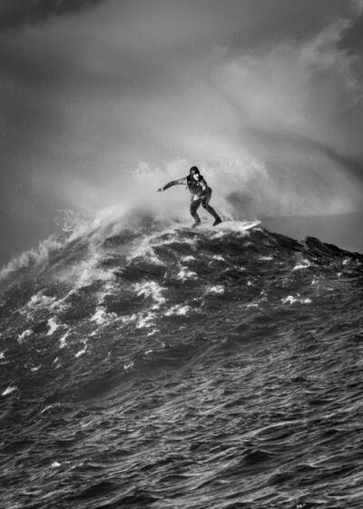 Dina Litovsky, 'Untitled (Bianca Valenti surfing at Maverick's)', 2018