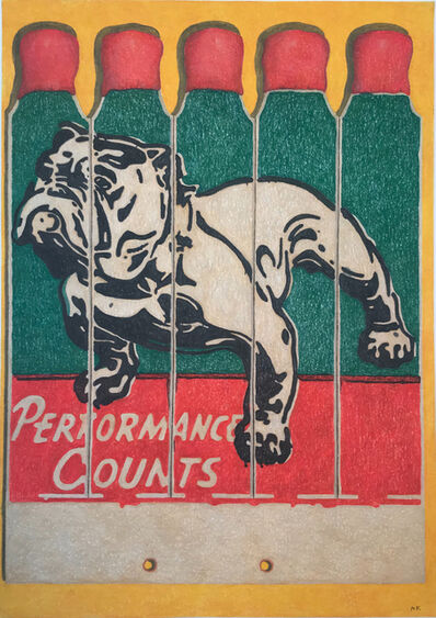 Aaron Kasmin, 'Performance Counts', 2019
