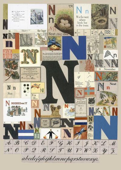 Peter Blake, 'The Letter N', 2007