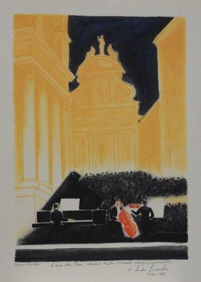 Andre Brasilier, 'Concert à Menton', 1998