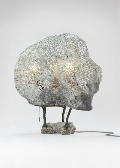 Nacho Carbonell, 'Alien Cocoon Concrete Base (4_70/2017)', 2017