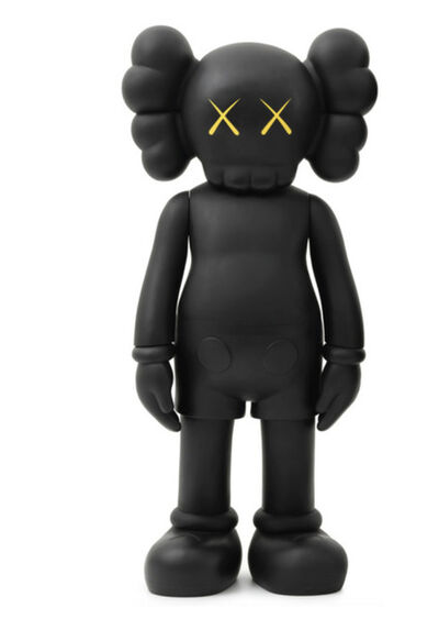 KAWS, '4ft Companion (Black)', 2012
