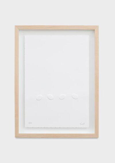 Turi Simeti, 'Quattro ovali', 2015