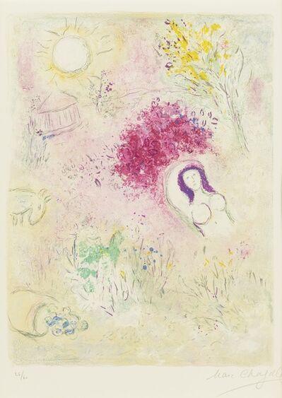 Marc Chagall, 'Chloe', 1960