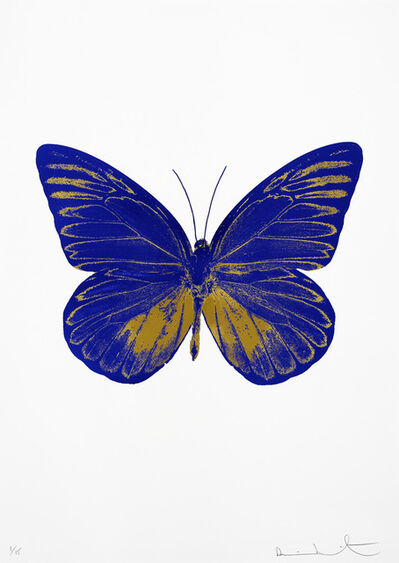 Damien Hirst, 'The Souls I (Westminster Blue - Oriental Gold) ', 2010