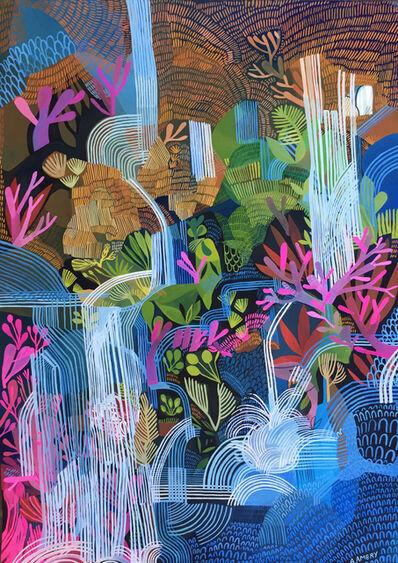 Ashley Amery, 'Splashing Waterfall (pink coral)', 2019