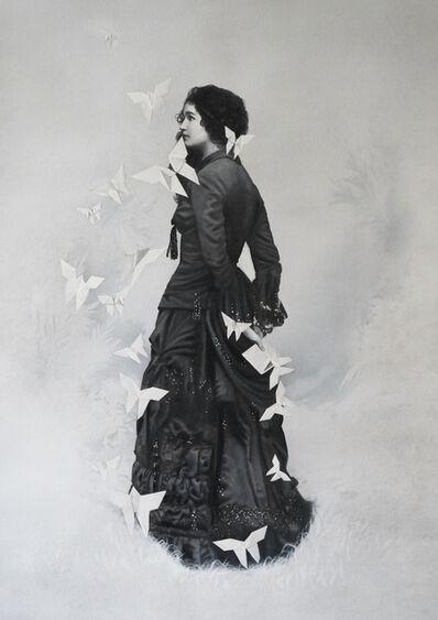 Zoé Byland, 'Lady with Letter', 2019